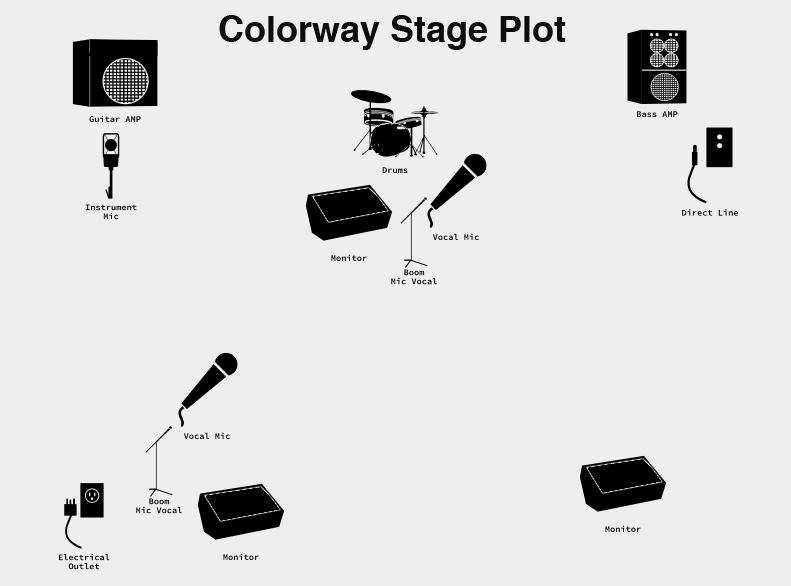 Colorway Stage Plot v.2.0